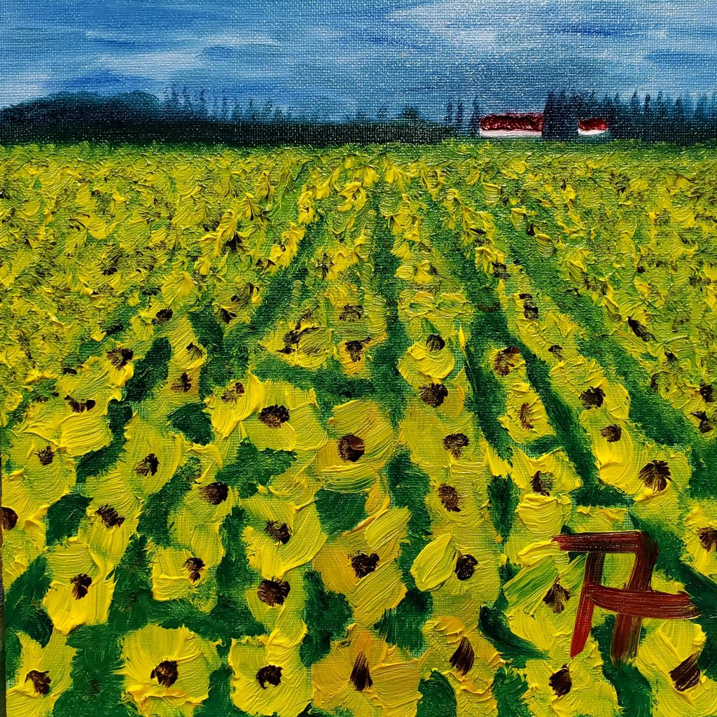 239 - Field of Sunflowers
